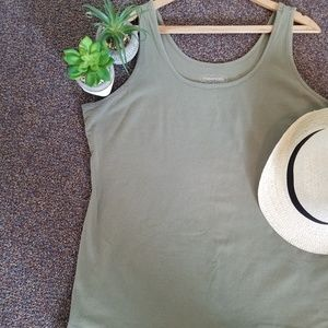 Maurices Olive Green Plus size 2X tank top